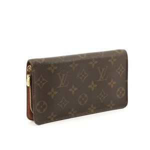 Auth Louis Vuitton Porte Monnaie Zippy #N0934V70